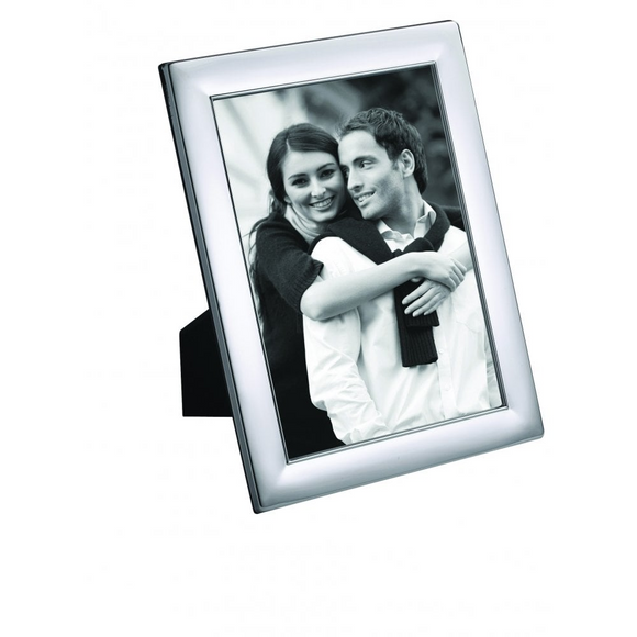 CARRS SILVER PLATED PHOTO FRAME WIDE PLAIN EDGE