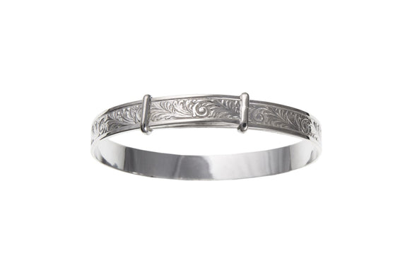 STERLING SILVER LADIES BANGLE