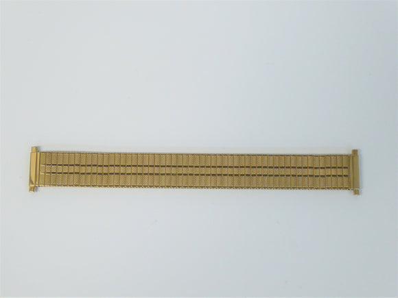 WATCH BRACELET - GOLD PLATE EXPANDER 18-22MM