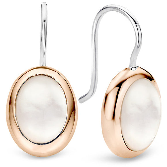TII SENTO - MILANO MOTHER OF PEARL DROP EARRINGS