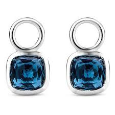 TI SENTO - MILANO SQUARE BLUE EAR CHARMS