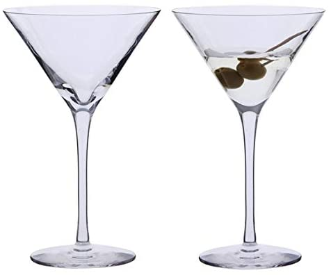 DARTINGTON PAIR OF MARTINI GLASSES