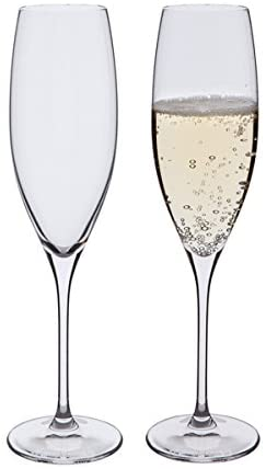 DARTINGTON PAIR OF FLUTE GLASSES