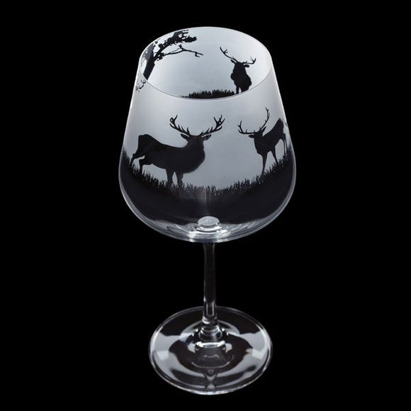 DARTINGTON STAG COPA GLASS
