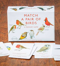 MATCH A PAIR OF BIRDS MEMORY GAME