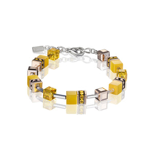 COUER DE LION YELLOW GEOCUBE BRACELET