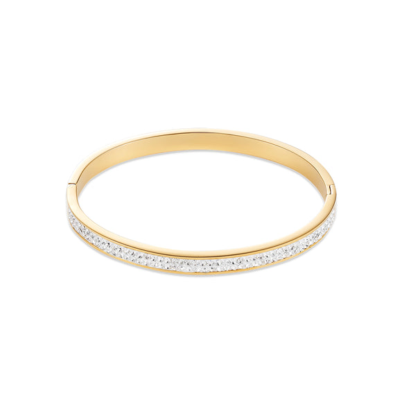 COUER DE LION GOLD PLATED BANGLE