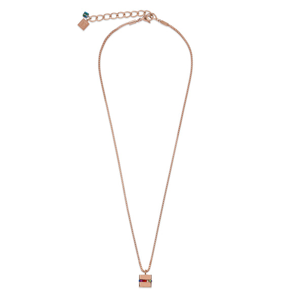 COEUR DE LION ROSE GOLD NECKLACE