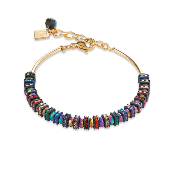 COEUR DE LION MULTICOLOUR CRYSTAL BRACELET