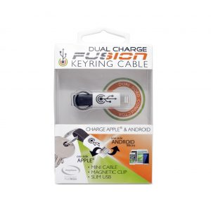 MAYHEM FUNTECH DUAL CHARGE FUSION KEYRING CABLE