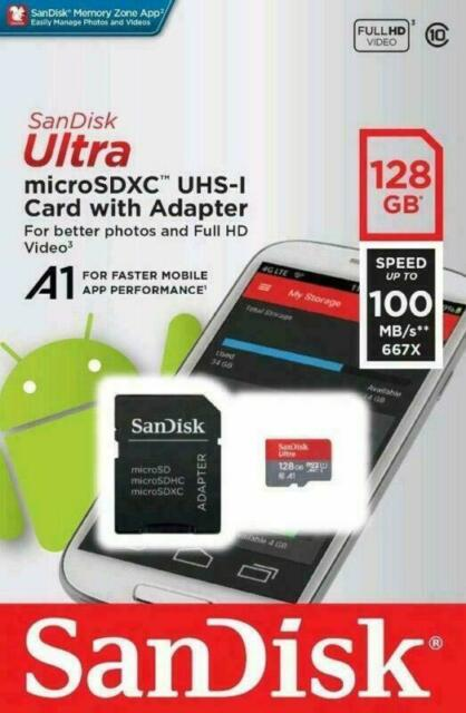 SANDISK ULTRA MICRO SDXC™ UHS-I CARD WITH ADAPTER 128GB
