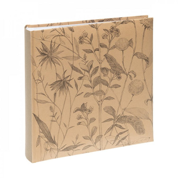 KENRO WILDFLOWER PHOTOGRAPH ALBUM - NATURAL 6X4
