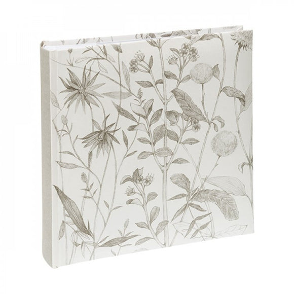 KENRO WILDFLOWER PHOTOGRAPH ALBUM - WHITE 6X4
