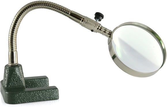 VIKING SWAN NECK MAGNIFIER AND STAND