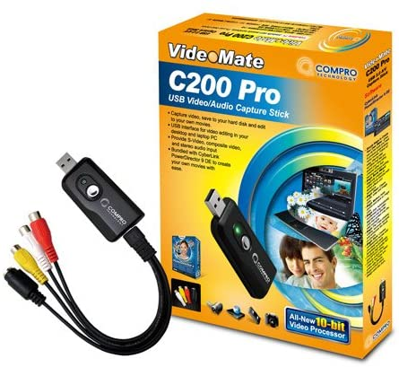 VIDEO MATE VIDEO/AUDIO C200 PRO CAPTURE STICK