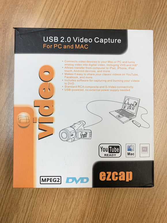 VIDEO USB ADAPTOR FOR MAC/PC