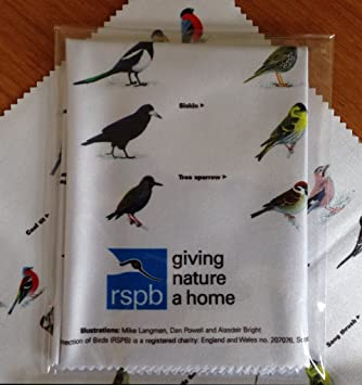 RSPB BIRD CLEANING CLOTH