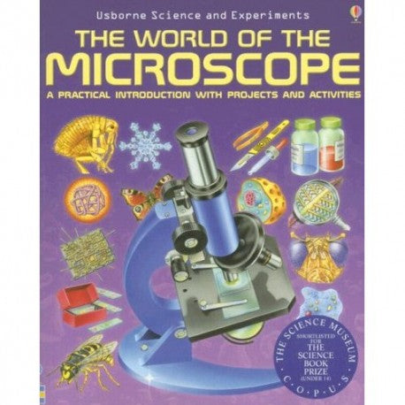CELESTRON WORLD OF MICROSCOPE BOOK