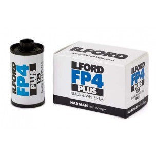 ILFORD FP4 PLUS 135/36 BLACK AND WHITE FILM