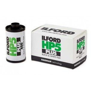 ILFORD HP5 PLUS 135/36 BLACK AND WHITE FILM