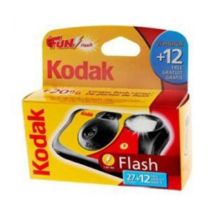 KODAK FUN FLASH 39 EXPOSURES