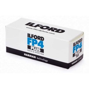 ILFORD FP4 PLUS 120 BLACK AND WHITE FILM