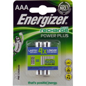 ENERGIZER AAA X2 RECHARGABLE BATTERIES 700MAH
