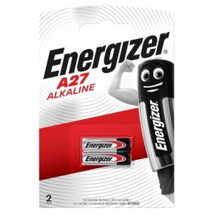 ENERGIZER A27 12V BATTERIES