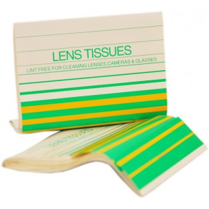 CLUBMAN LENS CLEANING TISSUES