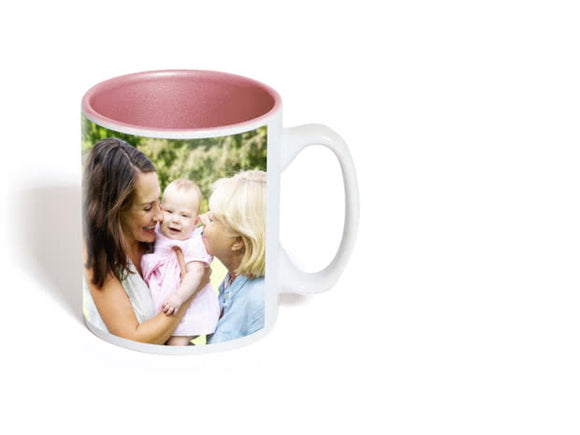 COLOURED PHOTO MUG