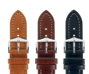 HIRSCH LEATHER BUFFALO STRAP LONG