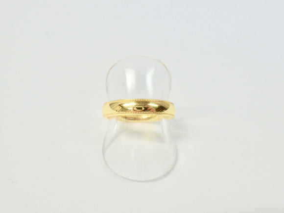 BROWN & NEWIRTH 18CT GOLD WEDDING RING