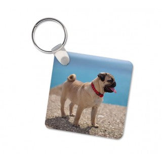 SQUARE & RECTANGLE PHOTO KEYRING