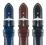 HIRSCH LEATHER TROOPER STRAP LONG