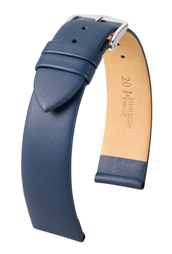 HIRSCH LEATHER ITALOCALF STRAP LONG