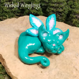 Alvarie - Hand Sculpted Polymer Clay Pixieling - Wicked Winglings