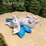 Nexie - Hand Sculpted Polymer Clay Pixieling - Wicked Winglings