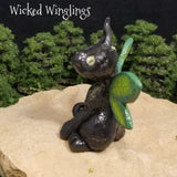 Serenity - Hand Sculpted Polymer Clay Pixieling - Wicked Winglings
