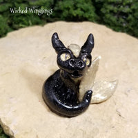 Nitz - Hand Sculpted Polymer Clay Minling Sea Dragon - Wicked Winglings