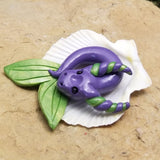 Arlina - Hand Sculpted Mini Polymer Clay Sea Dragon - Wicked Winglings