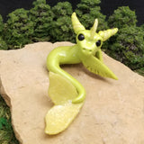 Fridunli - Hand Sculpted Polymer Clay Sea Dragon - Wicked Winglings