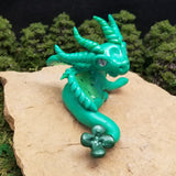 Paladall - Hand Sculpted Polymer Clay Dragon - Wicked Winglings