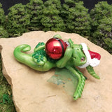 Everik - Hand Sculpted Polymer Clay Dragon Ornament - Wicked Winglings
