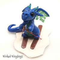 Bree - Hand Sculpted Polymer Clay Dragon