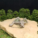 RESERVED FOR CHRISTY B. - Osburlon - Hand Sculpted Polymer Clay Dragon - Wicked Winglings
