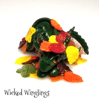 Ravina - Hand Sculpted Polymer Clay Dragon - Wicked Winglings
