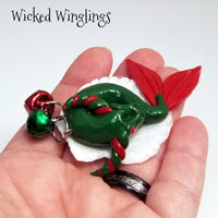 Suday - Hand Sculpted Polymer Clay Sea Dragon Ornament