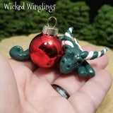Tavimal - Hand Sculpted Mini Polymer Clay Dragon Ornament