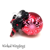 Venley - Hand Sculpted Mini Polymer Clay Dragon Ornament