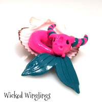 Tesirill - Hand Sculpted Mini Polymer Clay Sea Dragon
